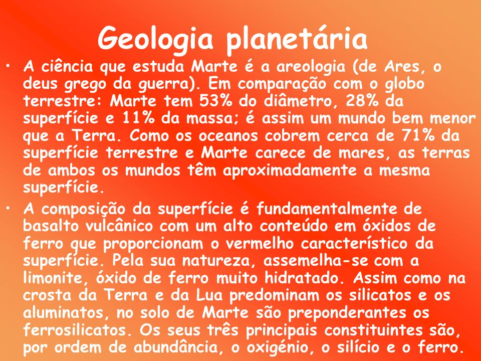 Geologia planetária