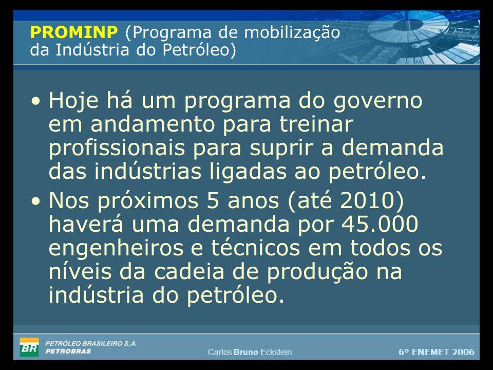 PROMINP (Programa de mobilização da Indústria do Petróleo)
