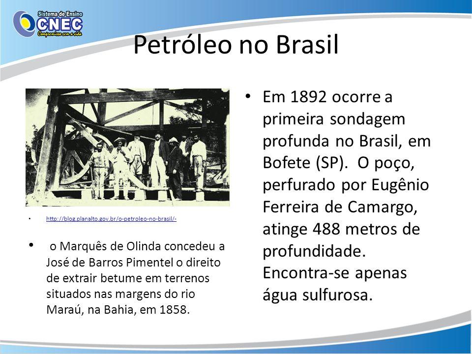 Petróleo no Brasil http://blog.planalto.gov.br/o-petroleo-no-brasil/-