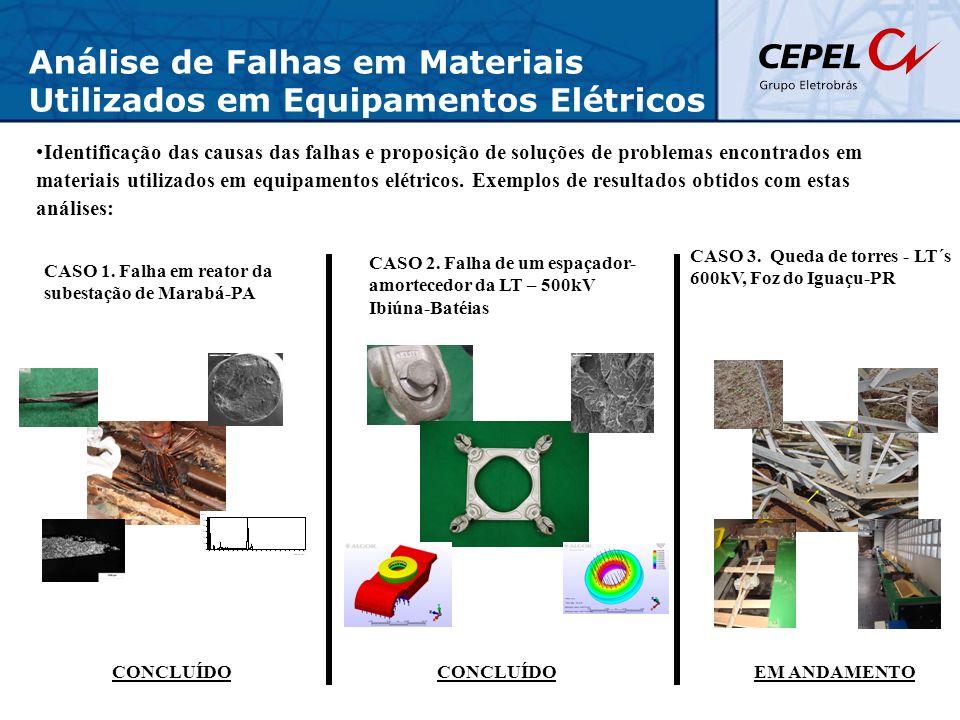 Análise de Falhas em Materiais Utilizados em Equipamentos Elétricos