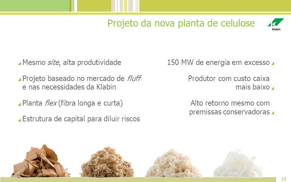 Projeto da nova planta de celulose