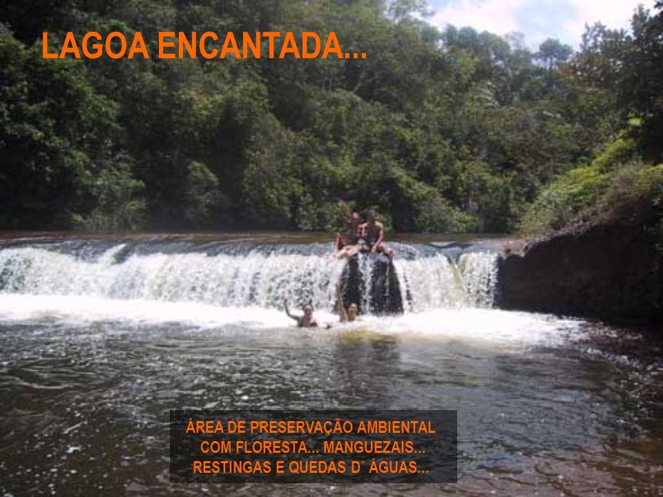LAGOA ENCANTADA... ÁREA DE PRESERVAÇÃO AMBIENTAL
