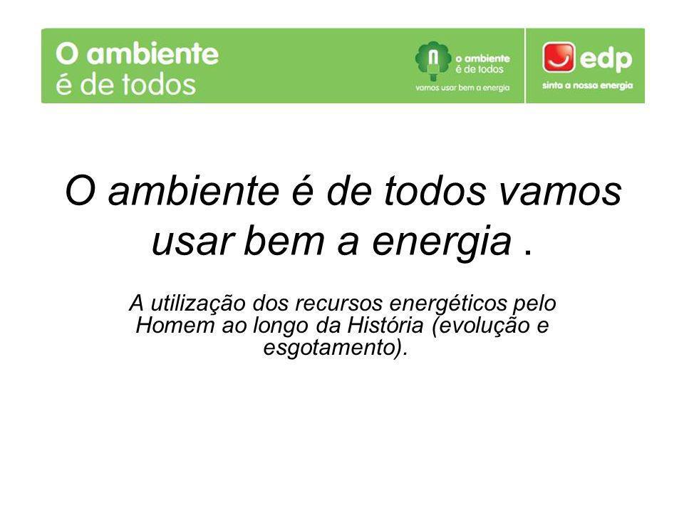 O ambiente é de todos vamos usar bem a energia .