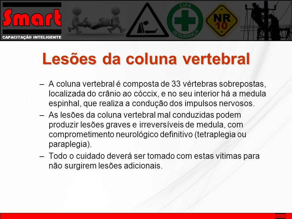 Lesões da coluna vertebral