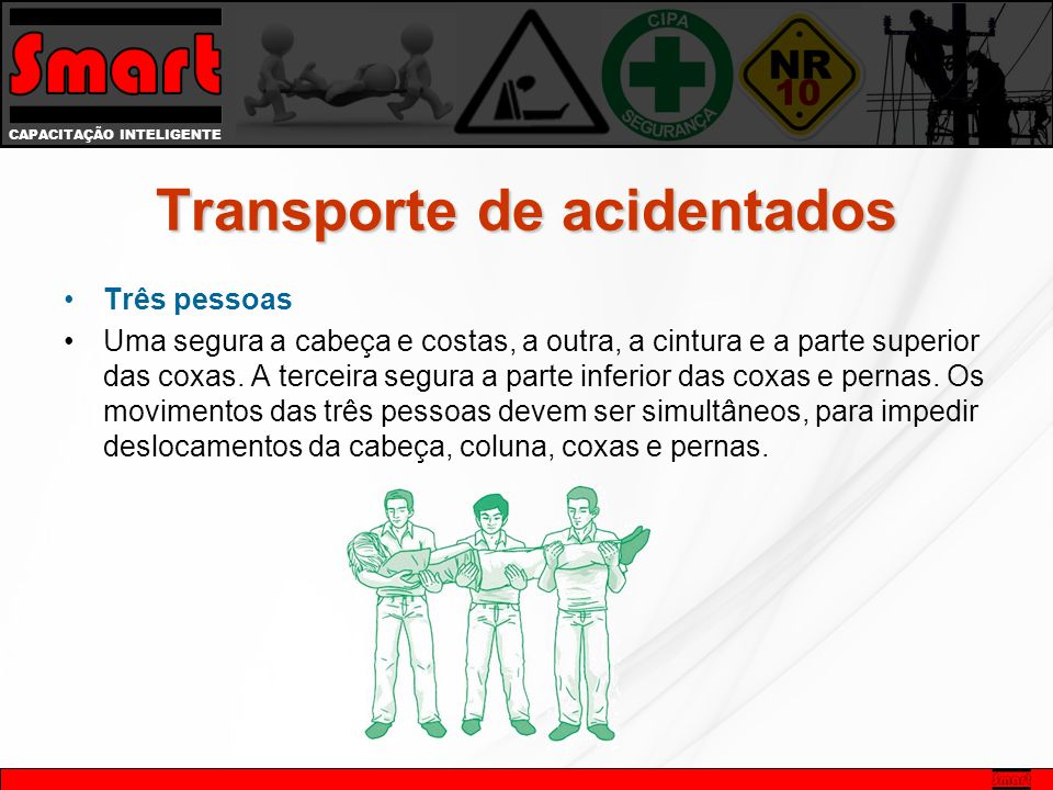 Transporte de acidentados