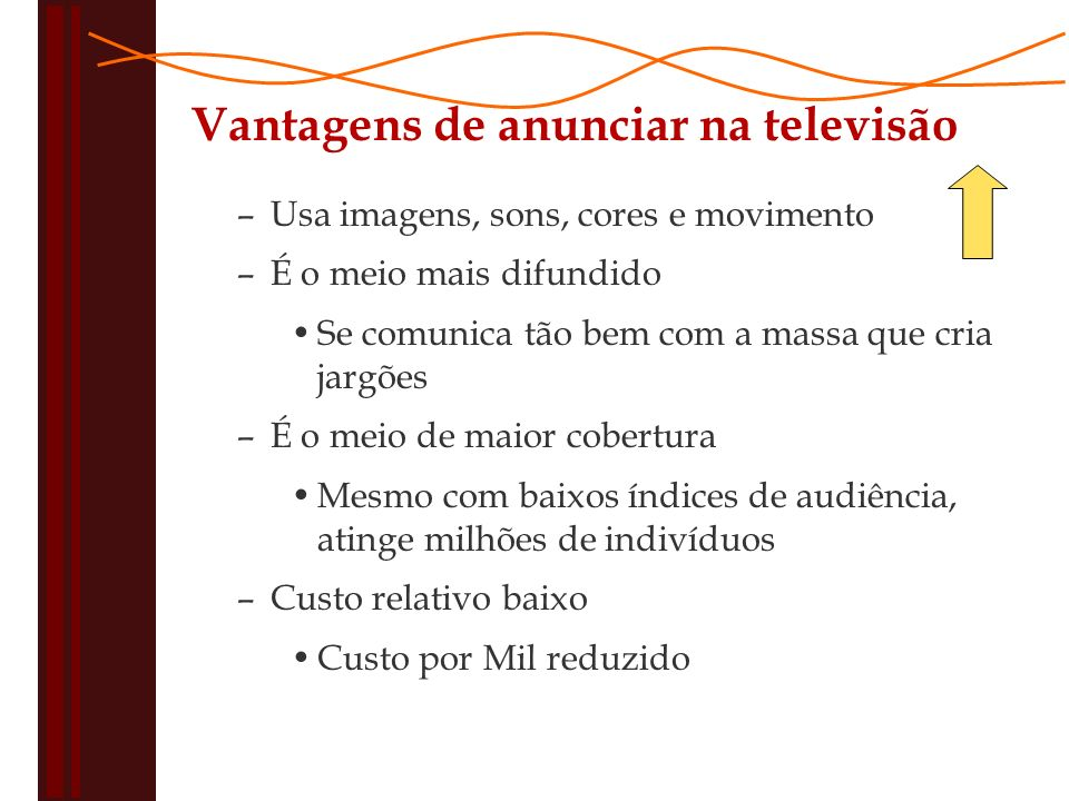 Vantagens de anunciar na televisão