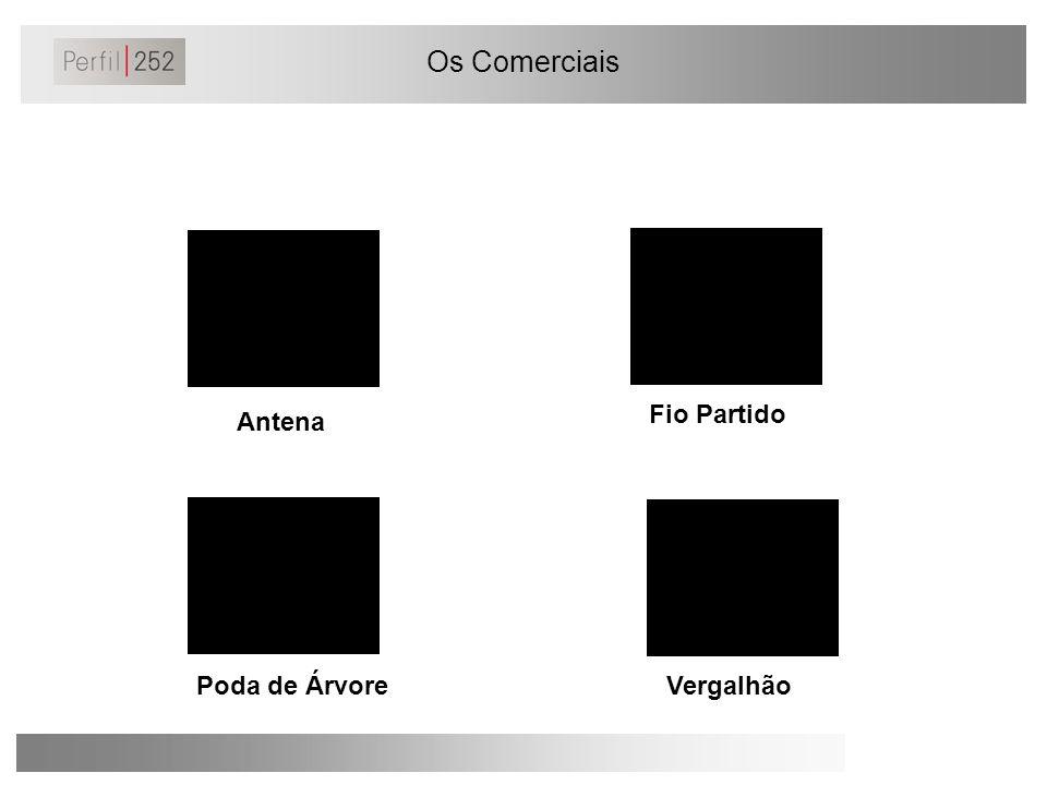 Os Comerciais Fio Partido Antena Poda de Árvore Vergalhão