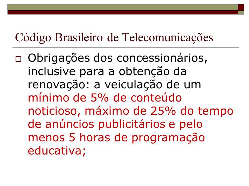 Código Brasileiro de Telecomunicações