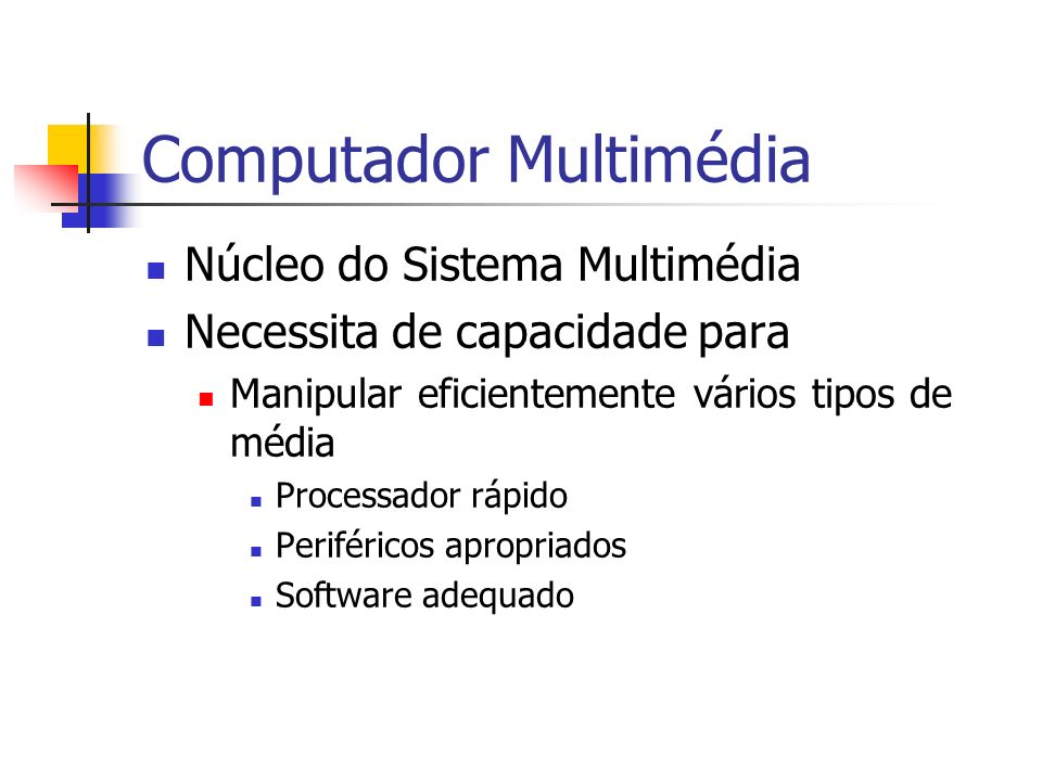 Computador Multimédia