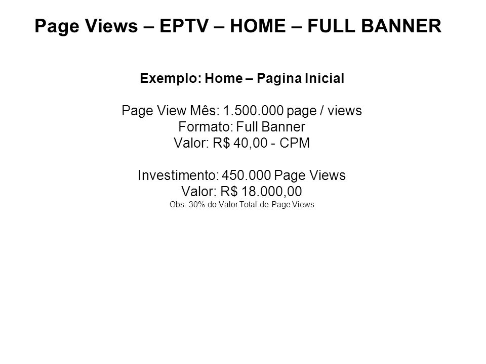 Page Views – EPTV – HOME – FULL BANNER