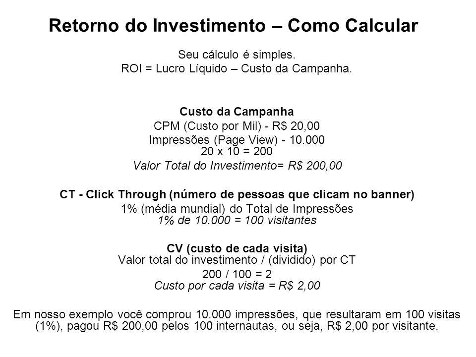 Retorno do Investimento – Como Calcular