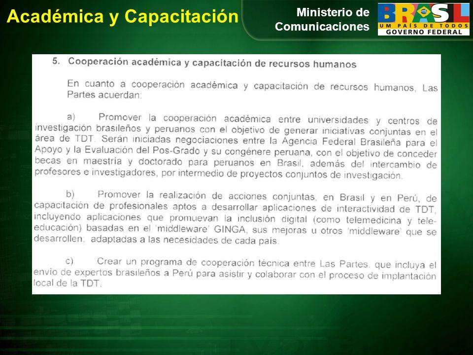 Académica y Capacitación