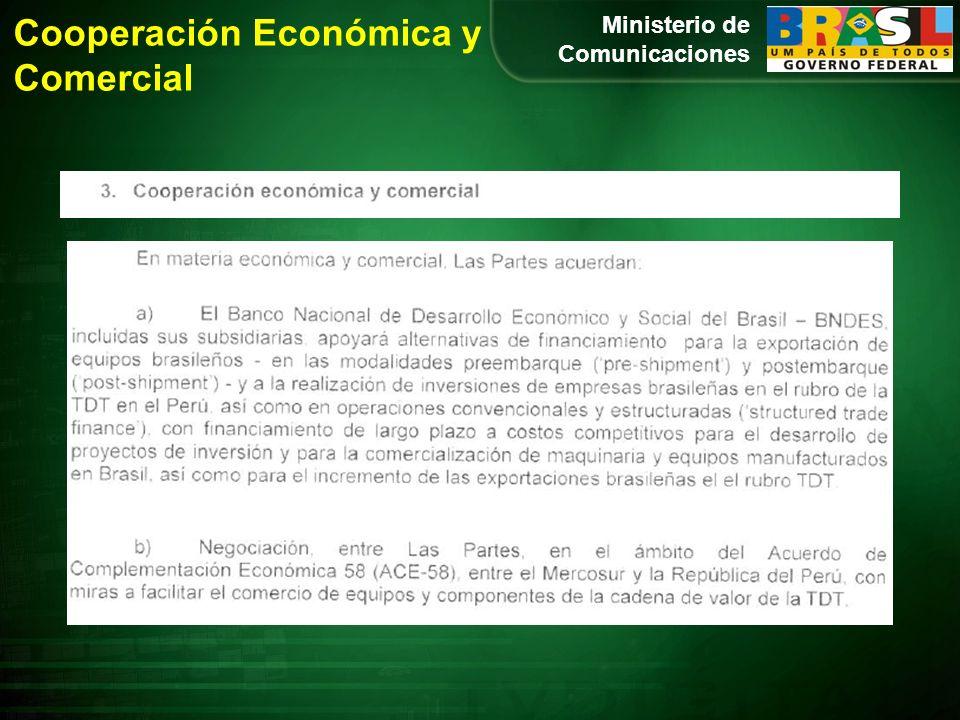 Cooperación Económica y Comercial