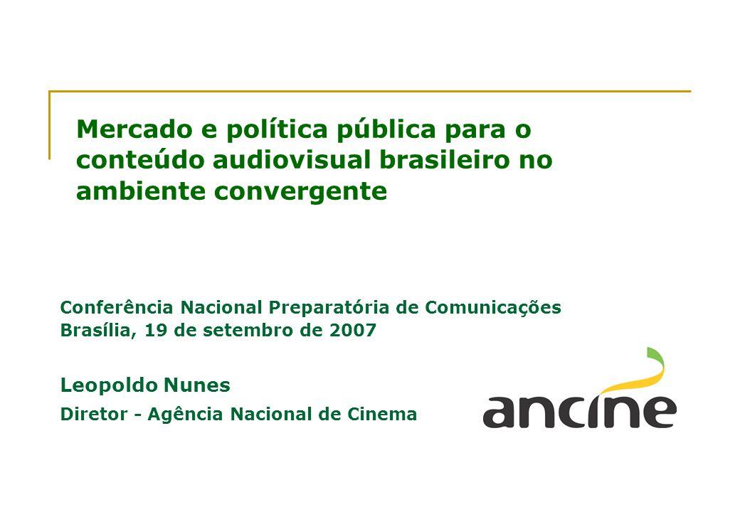 Mercado e política pública para o conteúdo audiovisual brasileiro no ambiente convergente
