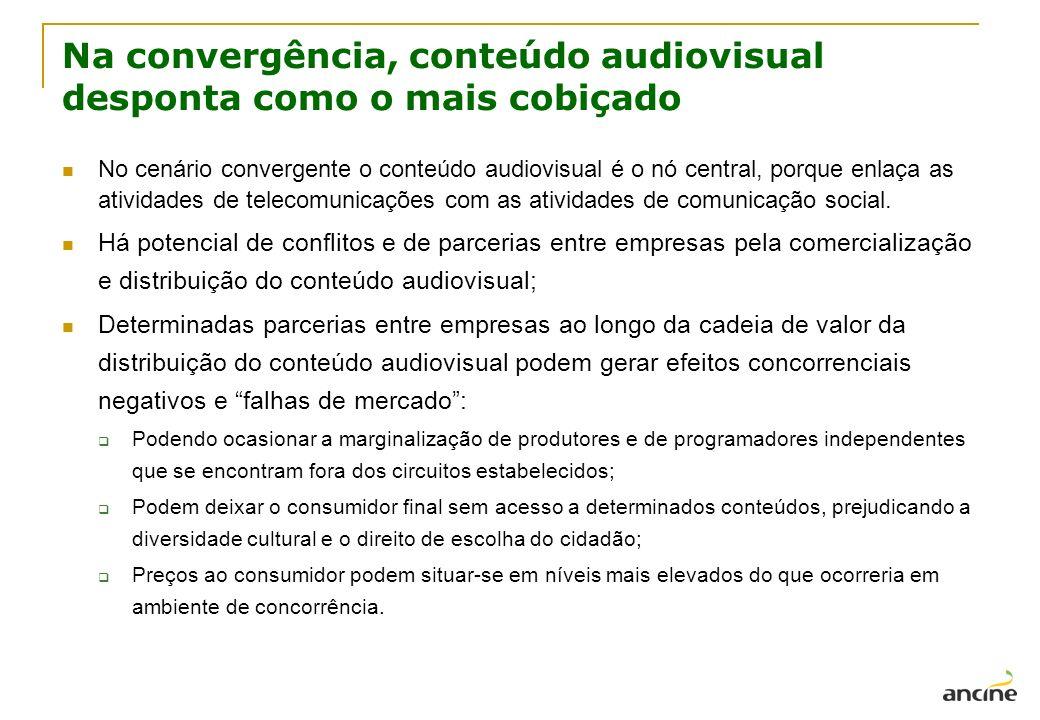 Na convergência, conteúdo audiovisual desponta como o mais cobiçado