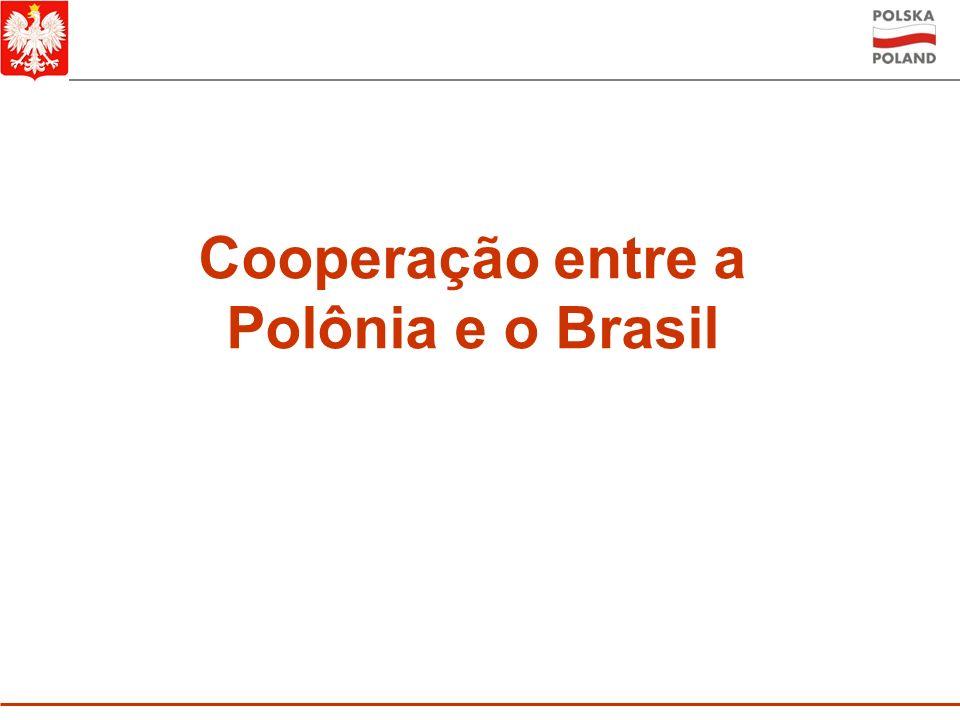 Cooperação entre a Polônia e o Brasil