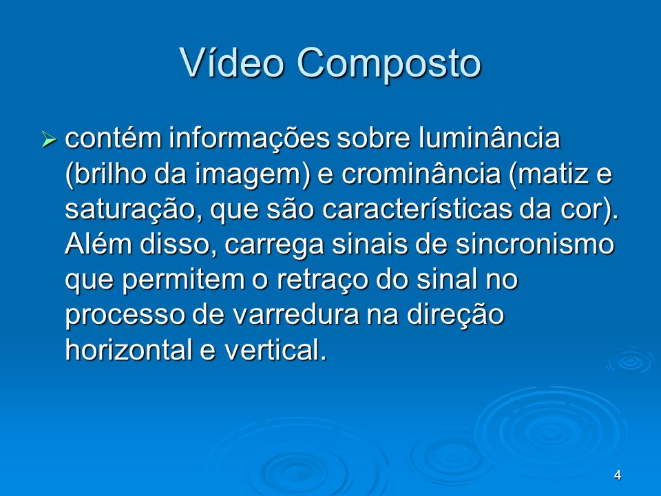 Vídeo Composto