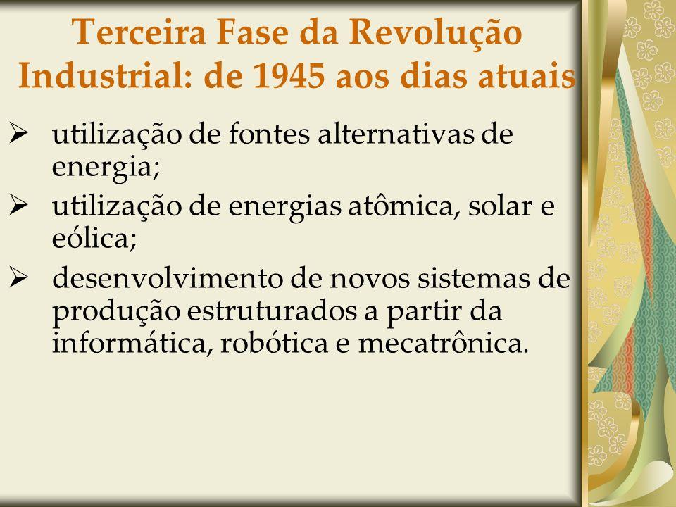 Terceira Fase da Revolução Industrial: de 1945 aos dias atuais