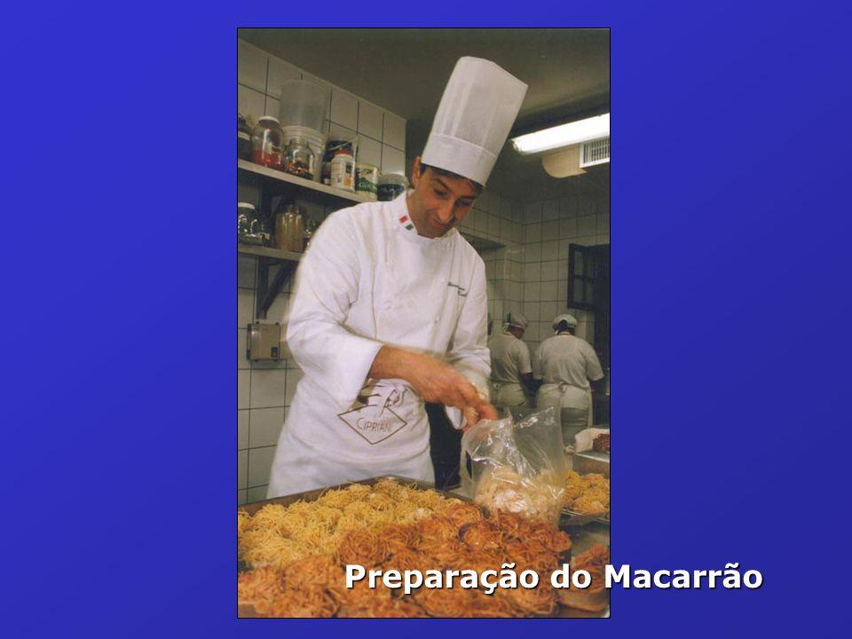 Preparação do Macarrão