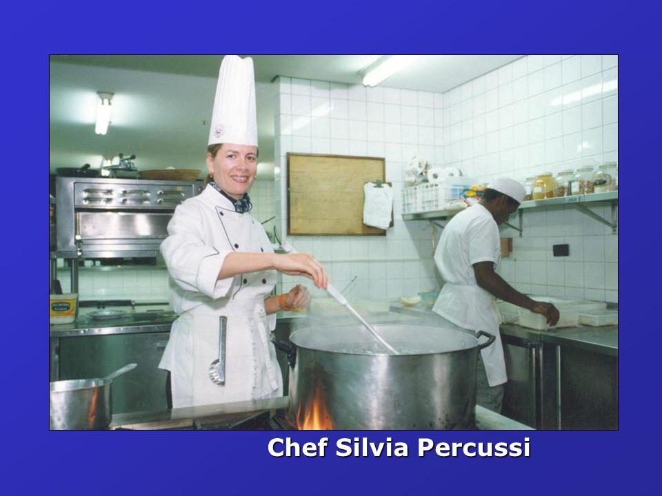 Chef Silvia Percussi
