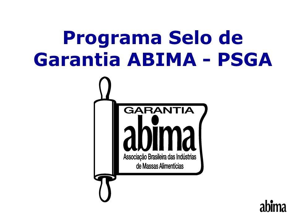 Programa Selo de Garantia ABIMA - PSGA