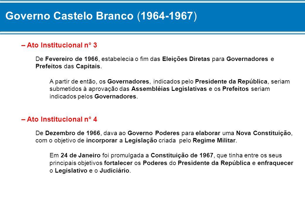 Governo Castelo Branco (1964-1967)