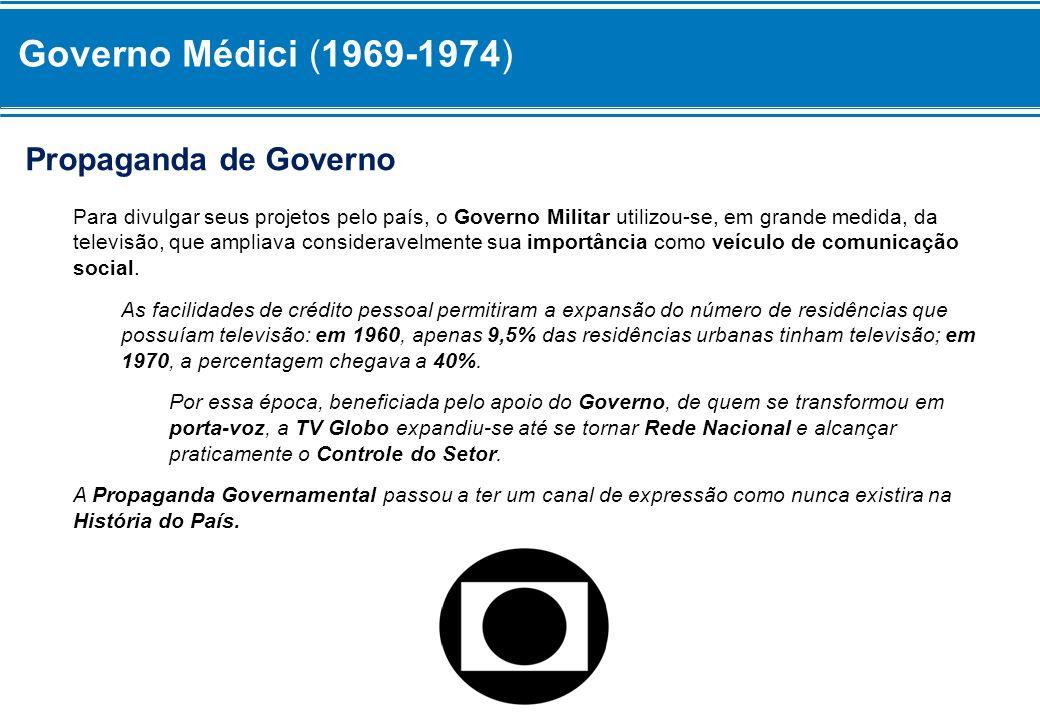 Governo Médici (1969-1974) Propaganda de Governo