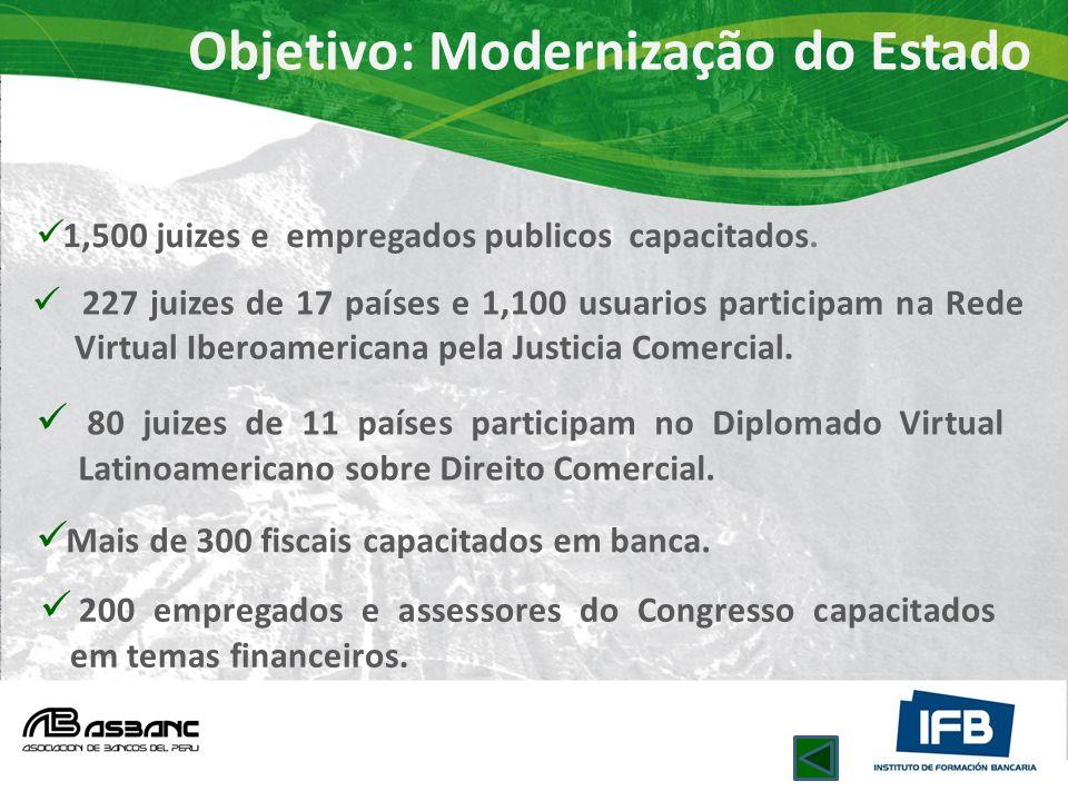 Objetivo: Modernização do Estado
