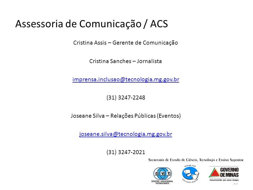 Assessoria de Comunicação / ACS