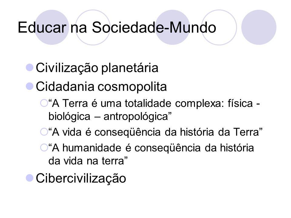 Educar na Sociedade-Mundo