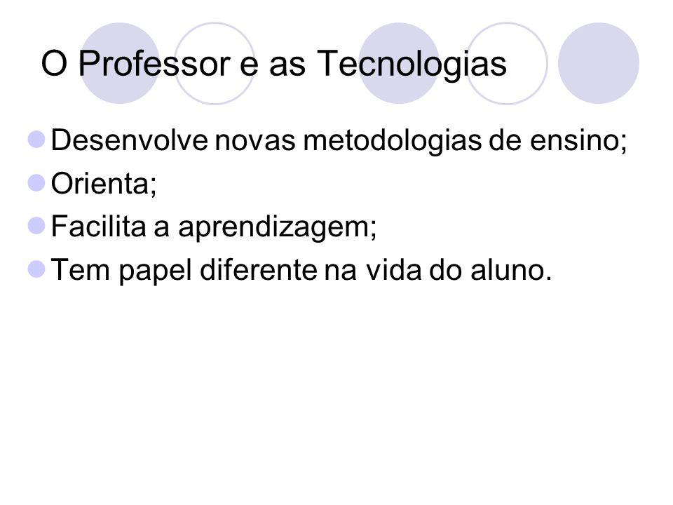 O Professor e as Tecnologias