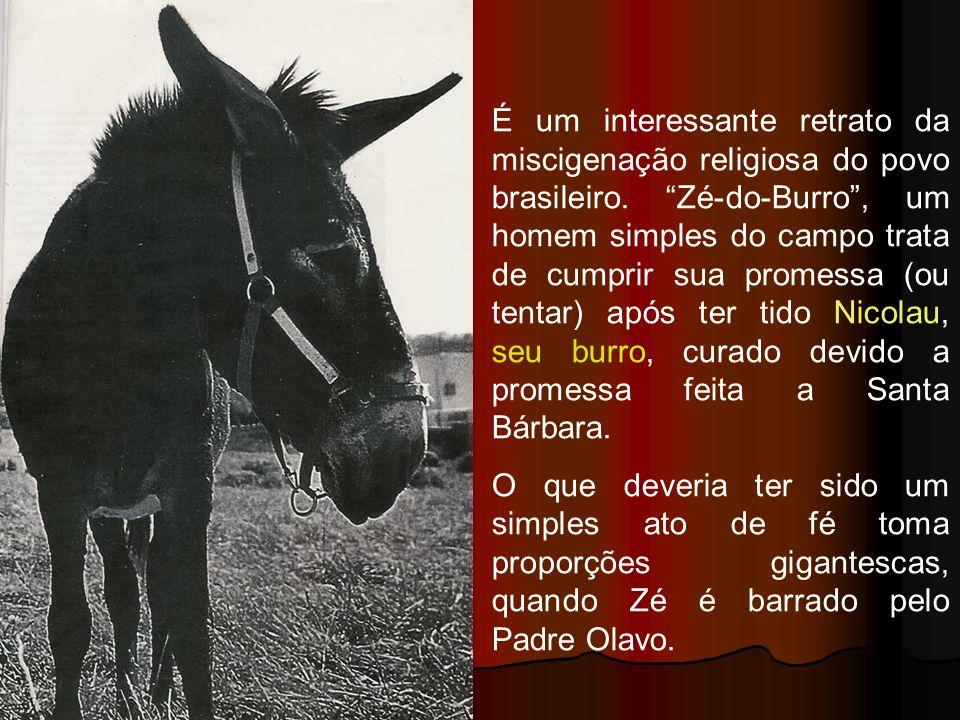 É um interessante retrato da miscigenação religiosa do povo brasileiro