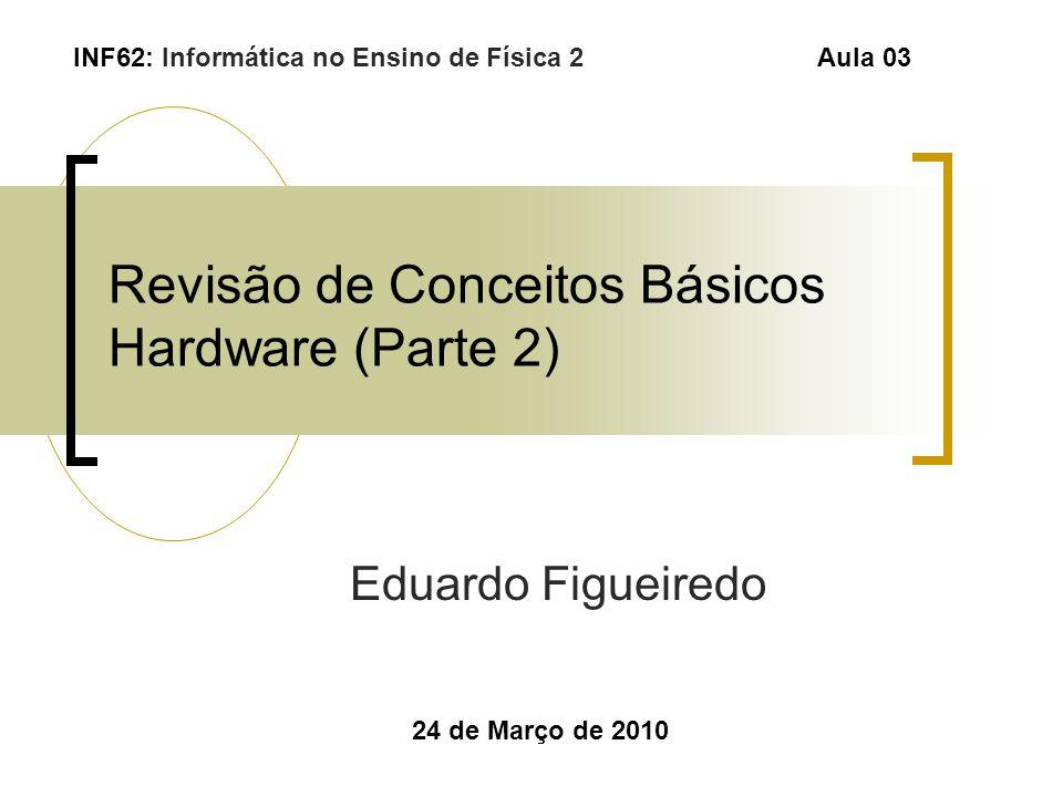 Revisão de Conceitos Básicos Hardware (Parte 2)