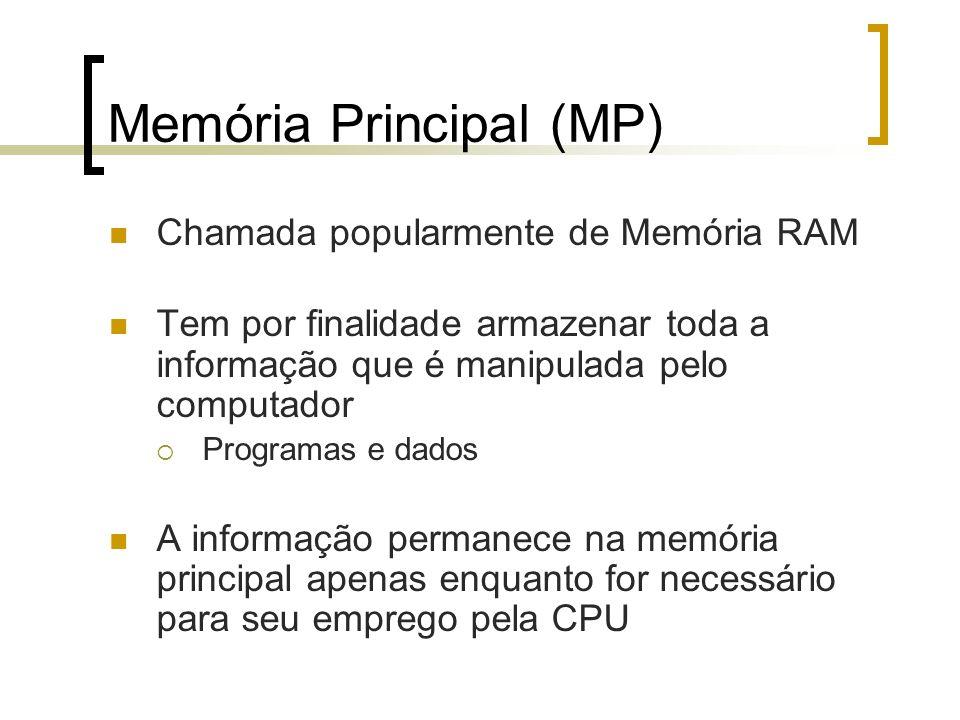Memória Principal (MP)
