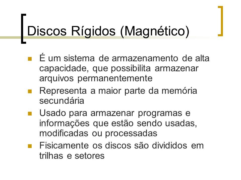 Discos Rígidos (Magnético)