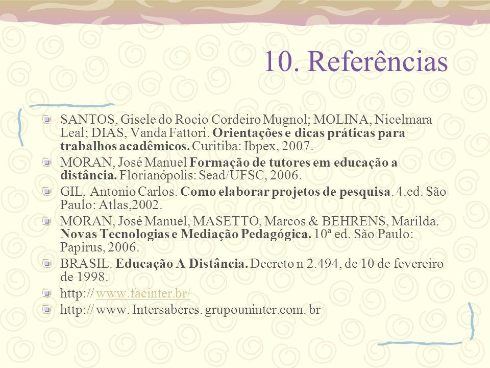 10. Referências