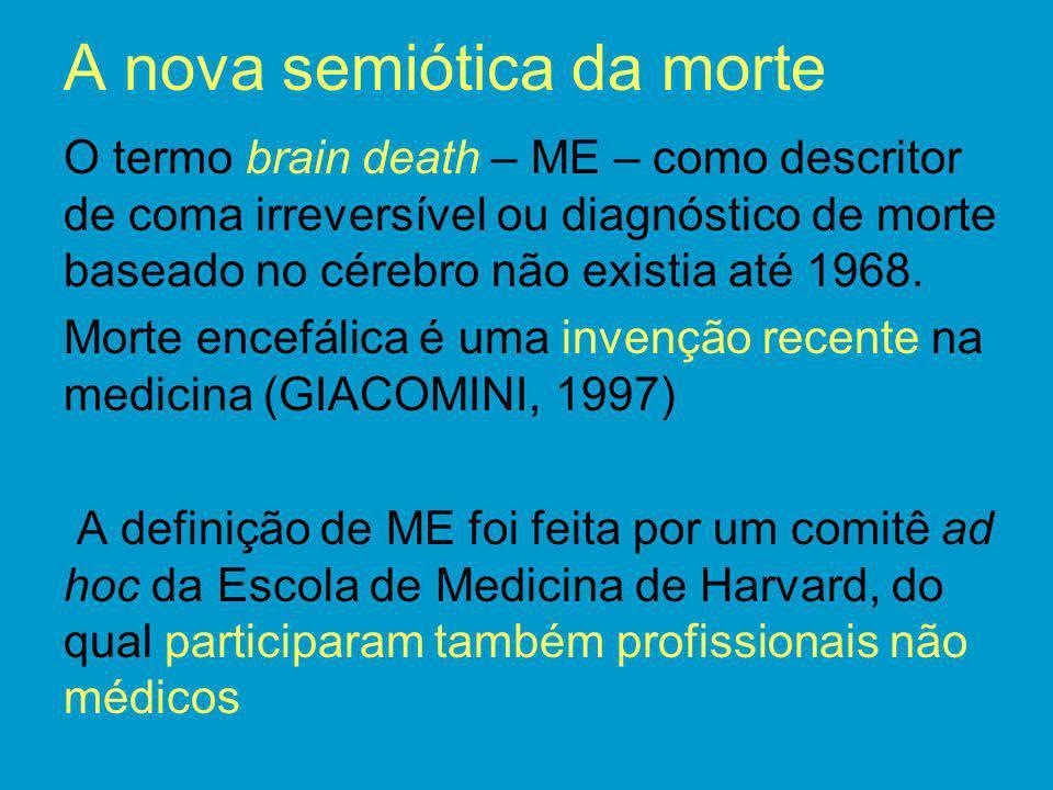 A nova semiótica da morte