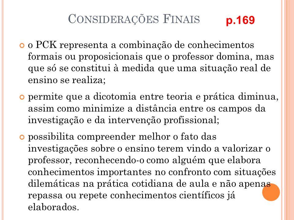 Considerações Finais p.169