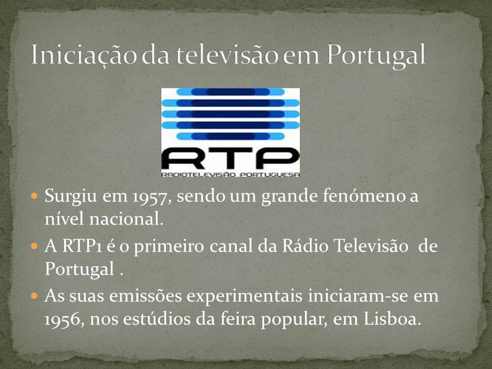 Iniciação da televisão em Portugal