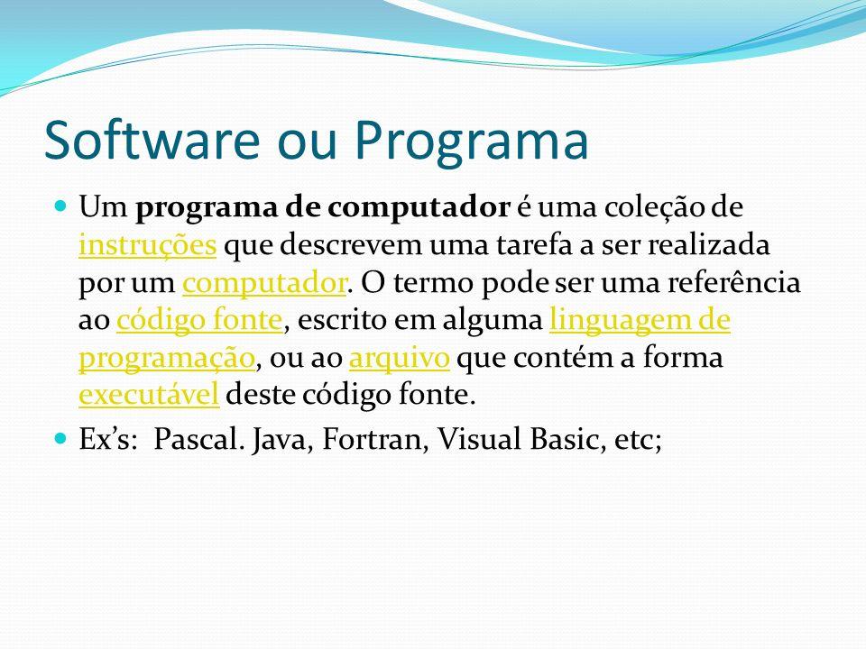 Software ou Programa