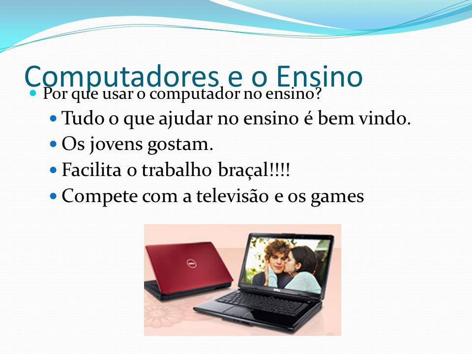 Computadores e o Ensino