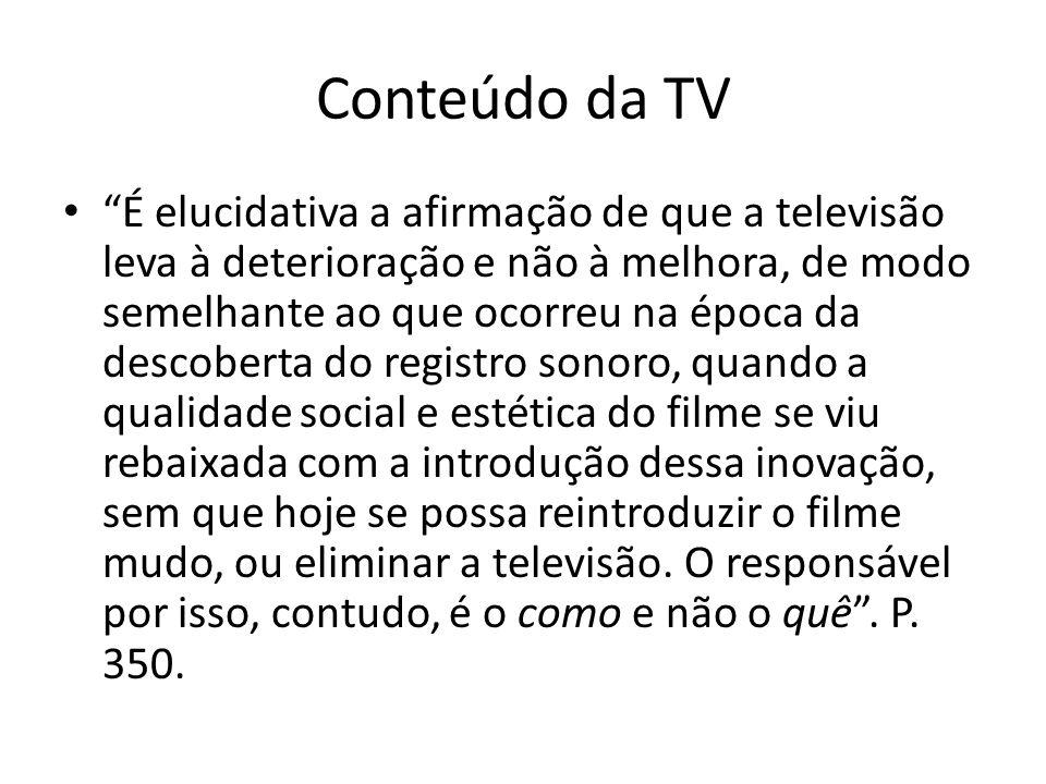 Conteúdo da TV