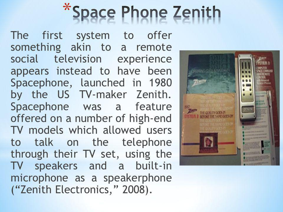 Space Phone Zenith