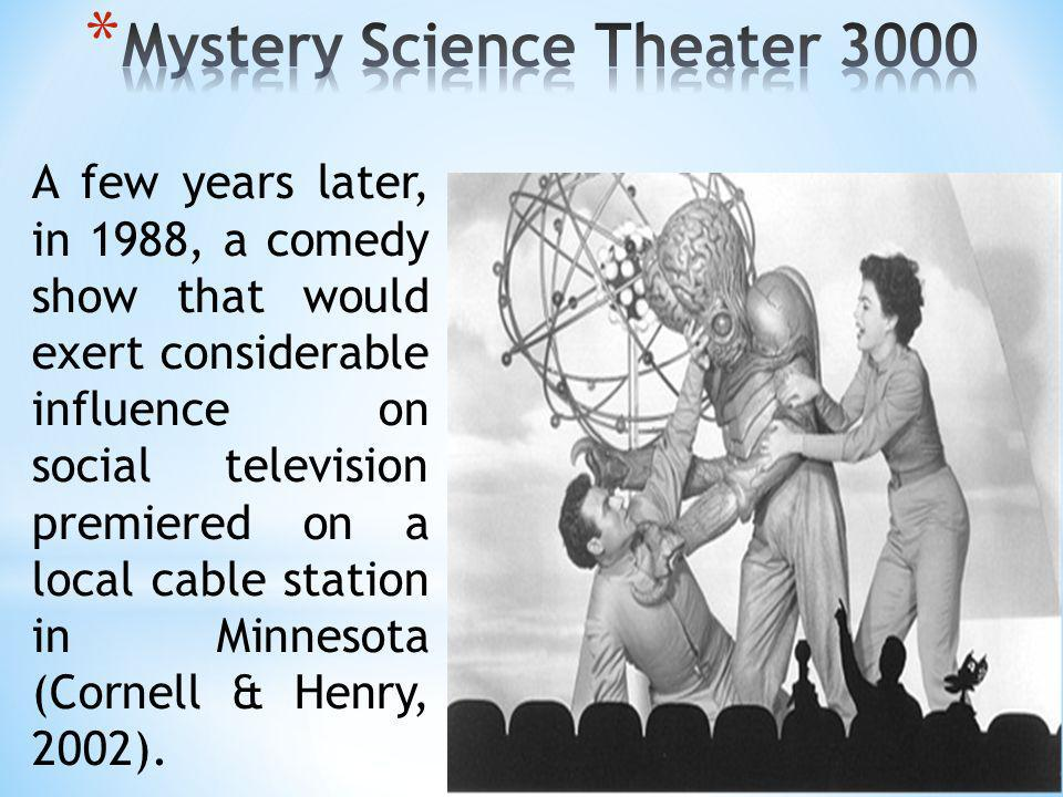 Mystery Science Theater 3000