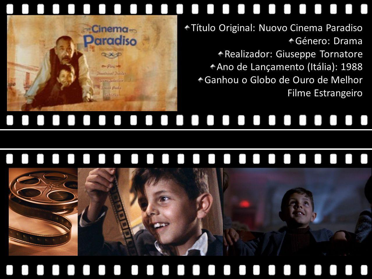 Título Original: Nuovo Cinema Paradiso