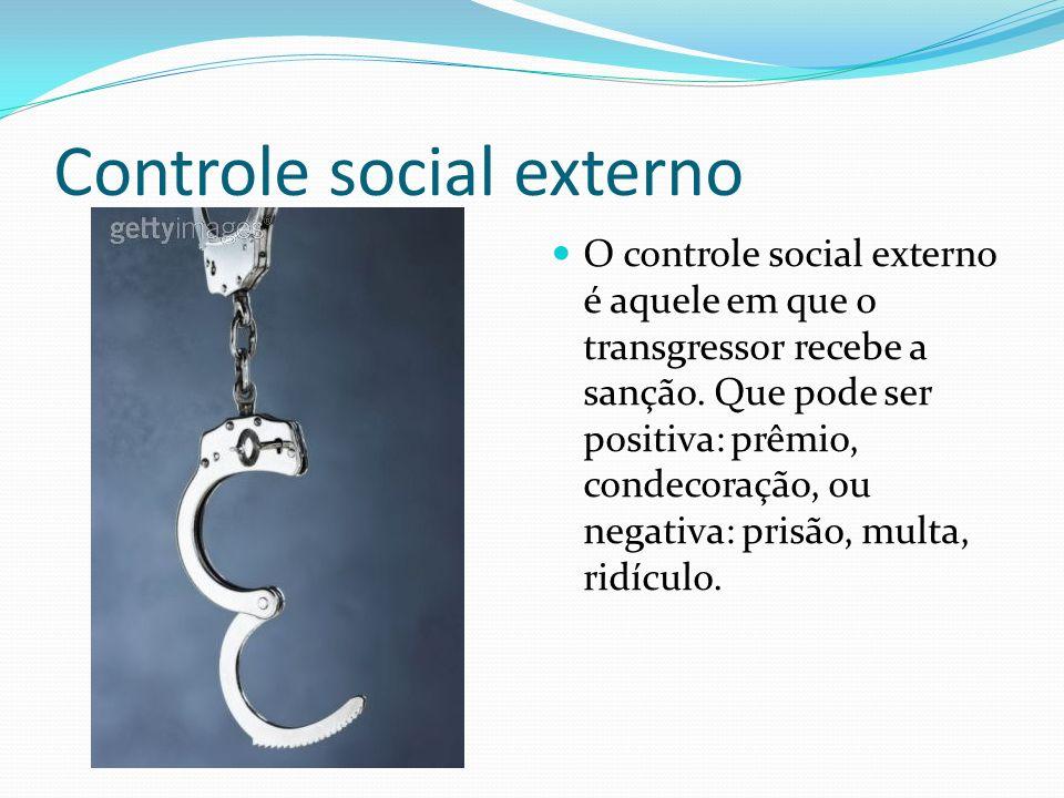 Controle social externo