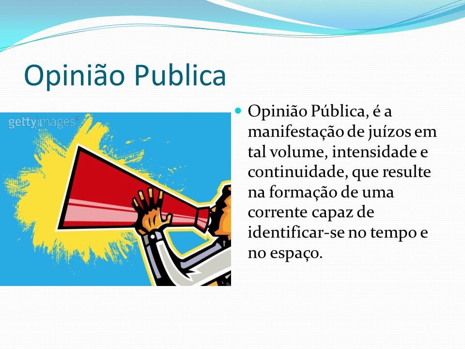 Opinião Publica