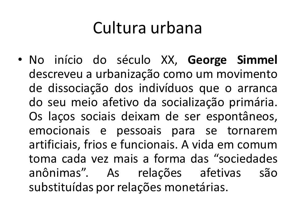 Cultura urbana