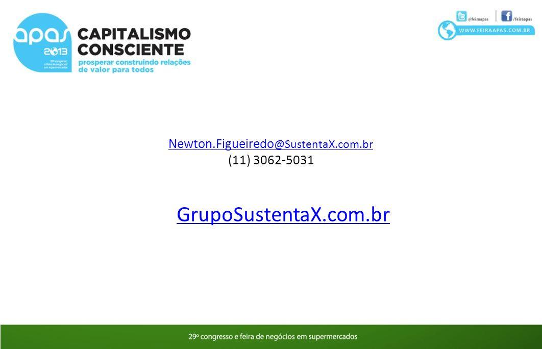 GrupoSustentaX.com.br Newton.Figueiredo@SustentaX.com.br
