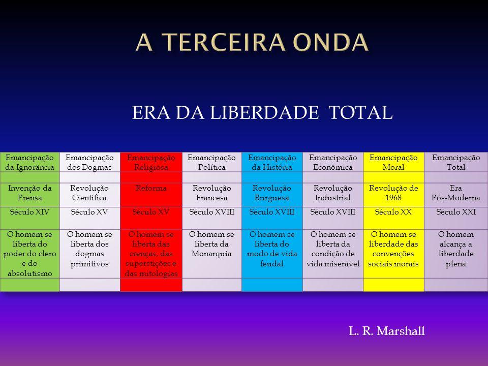 A TERCEIRA onda ERA DA LIBERDADE TOTAL L. R. Marshall